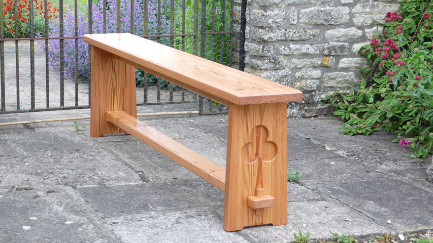 Yew Mirror · Sycamore Mirror · Dining Bench Of Reclaimed Pitch Pine ...